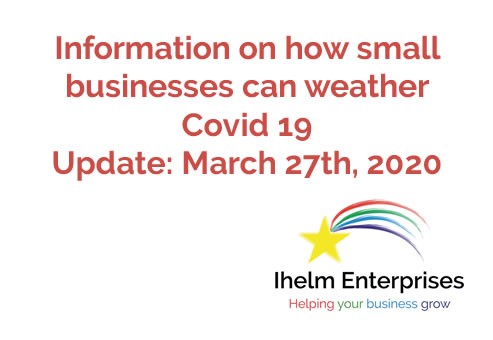 Ihelm Enterprises Covid 19 March 27 update