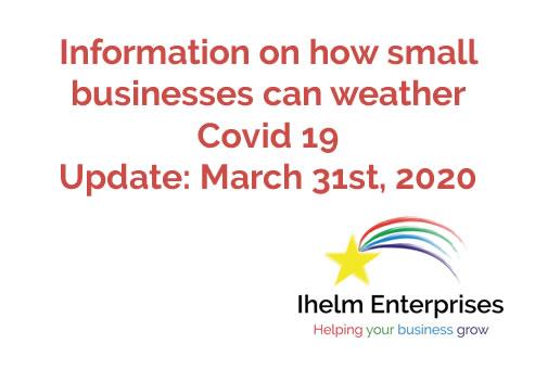 Ihelm Enterprises Covid 19 March 31