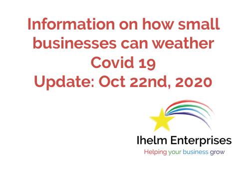 Ihelm Enterprises Covid 19 Update October 22